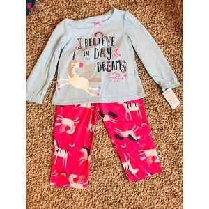 Toddler unicorn pajamas